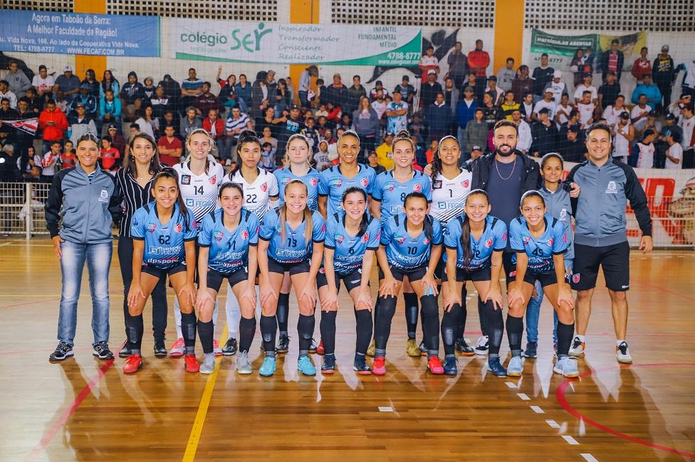 Futsal feminino recebe o São José no sábado pelo jogo de volta da final do Paulista