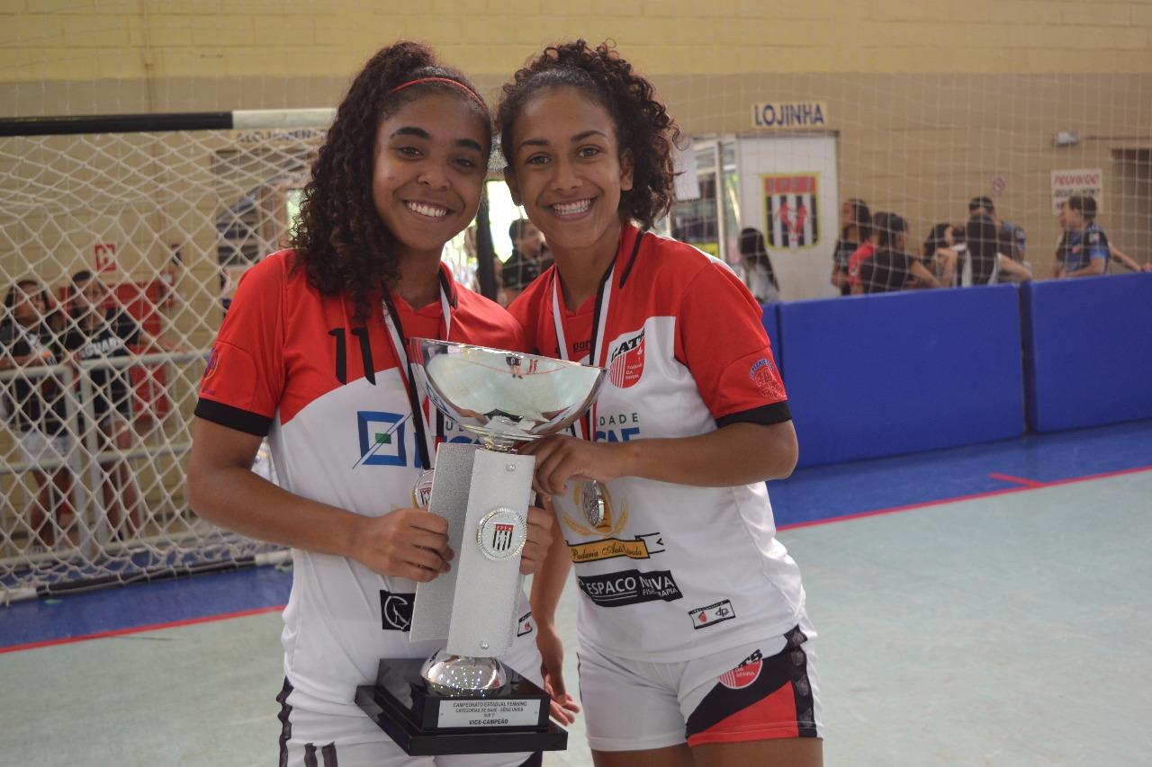 Futsal Feminino do Cats foi vice-campeão Paulista sub-17