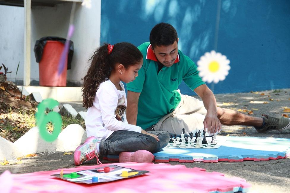Matematicando no Parque levou atividades lúdicas ao Parque das Hortências