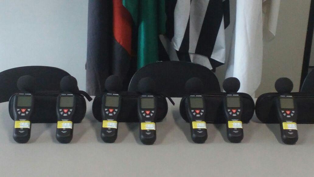 Prefeitura adquire sete novos decibelímetros para GCM
