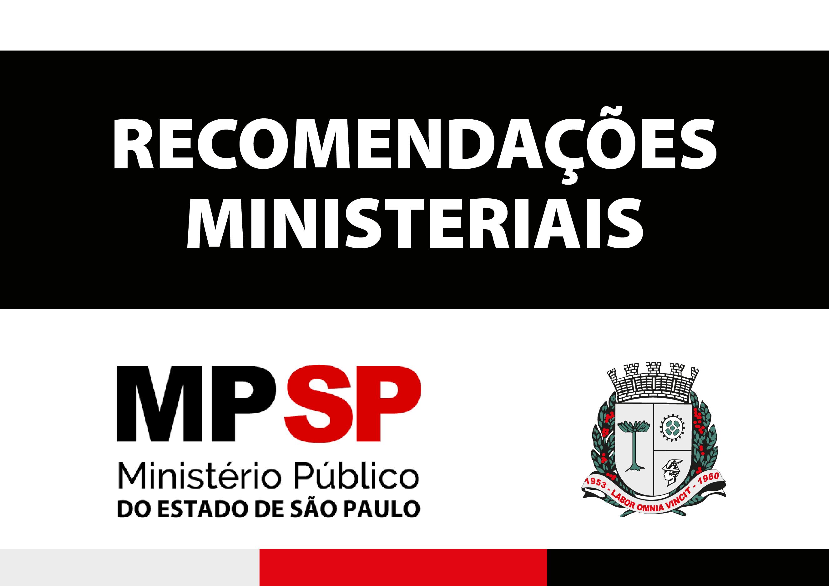 Recomendações Ministeriais