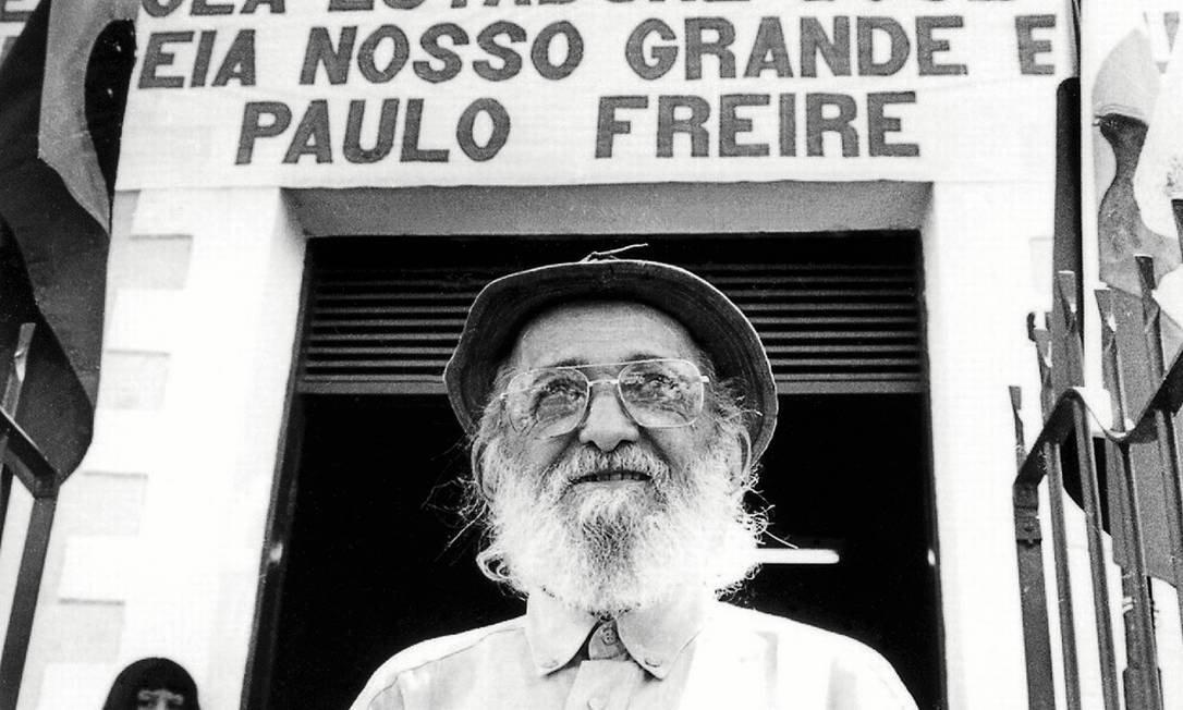 100 anos de Paulo Freire: ler o mundo antes das palavras